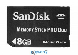 SANDISK Memory Stick PRO Duo 8GB.