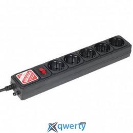 Сетевой фильтр LP-X5, 1.8 m Black