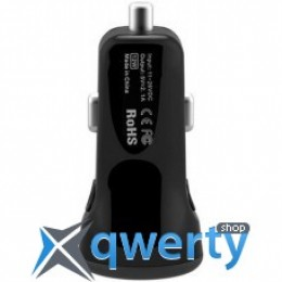 Baseus 2.1A Dual USB Car Charger Tiny-Color Black (CCALL-CR01)