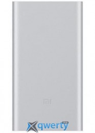 XIAOMI Mi Power Bank 2 10000 mAh (2.4A, 1USB) Silver (PLM02ZM-SL)