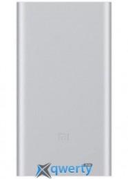 XIAOMI Mi Power Bank 2 10000 mAh (2.4A, 1USB) Silver (PLM02ZM-SL)