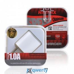 Зарядное устройство Remax mini Euro charger 1A white