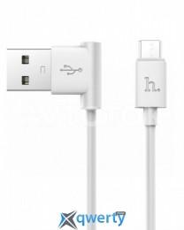 Кабель Hoco UPM10 Micro cable (1.2 m) (white)