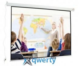 Электрический проекционный экран 88' 180x135 4:3 матовый White(Wall Electric 180)