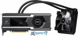 MSI GeForce GTX1080 Ti 11GB GDDR5X Sea Hawk Watercooled (352-bit) (1493 /11016) (DVI, HDMI, 3xDisplayPort) (GTX 1080 Ti SEA HAWK)