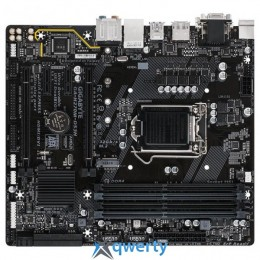GIGABYTE GA-H270M-DS3H (s1151, INTEL H270, PCI-Ex16)
