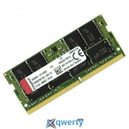 Kingston SO-DIMM DDR4-2400MHz 16GB (2х8gb)PC4-19200 ValueRAM (KVR24S17D8/16)