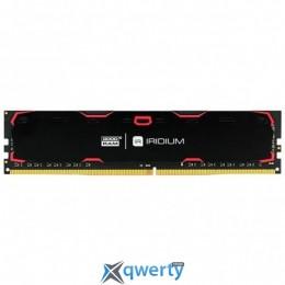 GOODRAM Iridium Black DDR4 4GB 2400MHz PC4-19200 (IR-2400D464L17S/4G) купить в Одессе