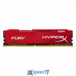KINGSTON HYPERX FURY RED DDR4 8GB 2133MHz PC4-17000 XMP (HX421C14FR2/8)