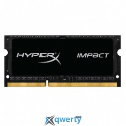 KINGSTON HYPERX IMPACT SODIMM DDR3L 8GB 1600MHz PC3-12800 (HX316LS9IB/8)