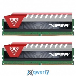PATRIOT VIPER ELITE RED DDR4 8GB (2x4GB) 2800MHz PC4-22400 (PVE48G280C6KRD)