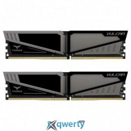 TEAM T-FORCE VULCAN GRAY DDR4 16GB (2x8GB) 2400MHz PC4-19200 (TLGD416G2400HC14DC01)