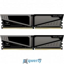 TEAM VULCAN GRAY DDR4 16GB (2x8GB) 3000MHz PC4-24000 (TLGD416G3000HC16CDC01)