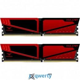 TEAM VULCAN RED DDR4 16GB (2x8GB) 3000MHz PC4-24000 (TLRED416G3000HC16CDC01)