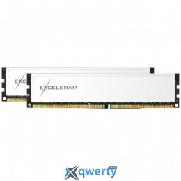 EXCELERAM BLACK&WHITE SERIES DDR4 8GB (2x4GB) 2400MHz PC4-19200 (EBW408247AD)