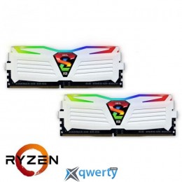GeIL DDR4-2400 16GB PC4-19200 (2x8GB) Super Luce RGB Lite AMD Edition (GALWC416GB2400C16DC)