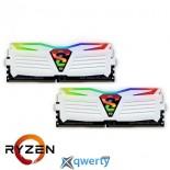 GeIL DDR4-2400 8GB PC4-19200 (2x4GB) Super Luce RGB Lite AMD Edition (GALWC48GB2400C16DC)