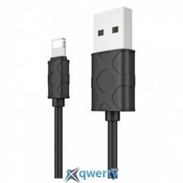 Baseus Yaven Lightning Cable For Apple 1M Black (CALUN-01)