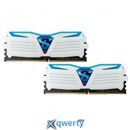 GeIL DDR4-3000 16GB PC4-24000 (2x8GB) Super Luce White-Blue LED (GLWB416GB3000C15ADC)