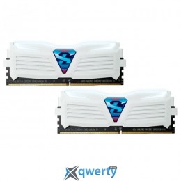 GeIL DDR4-3000 16GB PC4-24000 (2x8GB) Super Luce White LED (GLWW416GB3000C15ADC)