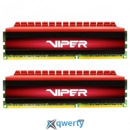 Patriot DDR4-3400 81GB PC4-27200 (2x4GB) Viper 4 Series Red (PV48G340C6K)