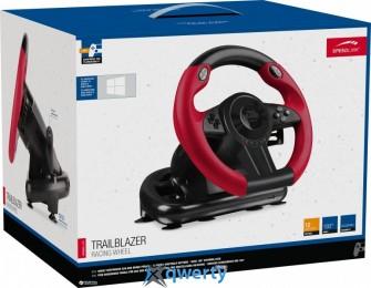 SPEEDLINK TRAILBLAZER Racing Wheel for PS4/Xbox One/PS3/PC, Black