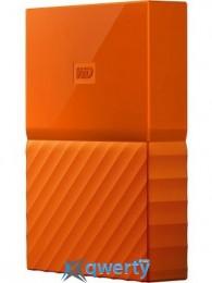 WD 2.5 USB 3.0 1TB My Passport Orange (WDBYNN0010BOR-WESN)
