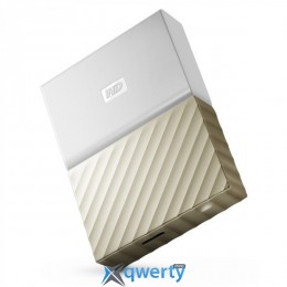 WD 2.5 USB 3.0 1TB My Passport Ultra Gold (WDBTLG0010BGD-WESN)