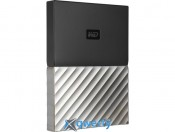WD 2.5 USB 3.0 1TB My Passport Ultra Gray (WDBTLG0010BGY-WESN)