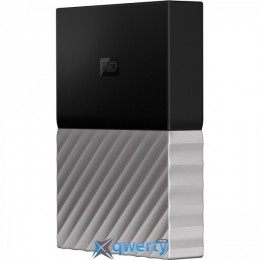 WD 2.5 USB 3.0 3TB My Passport Ultra Gray (WDBFKT0030BGY-WESN)