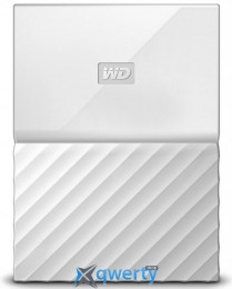 WD 2.5 USB 3.0 3TB My Passport White (WDBYFT0030BWT-WESN)