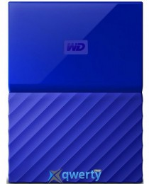 WD 2.5 USB 3.0 4TB My Passport Blue (WDBYFT0040BBL-WESN)