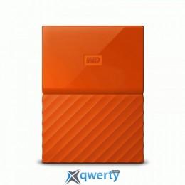 WD 2.5 USB 3.0 4TB My Passport Orange (WDBYFT0040BOR-WESN)