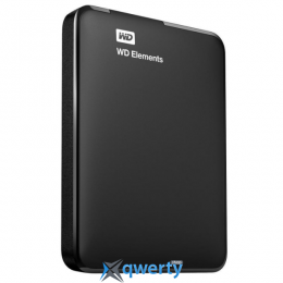 WD 2.5 USB 3.00 1TB 5400rpm Elements Portable (WDBUZG0010BBK-WESN)
