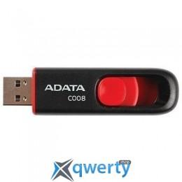 ADATA 16GB USB 2.0 C008 Black/Red (AC008-16G-RKD)