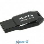 ADATA 16GB USB 2.0 UV100 Black (AUV100-16G-RBK)