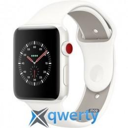 Apple Watch Edition GPS + LTE MQKD2 42mm White Ceramic Case with Soft White/Pebble Sport купить в Одессе