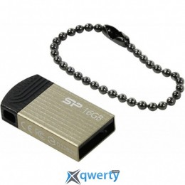 Silicon Power 16GB USB Touch T20 Champagne (SP016GBUF2T20V1C)