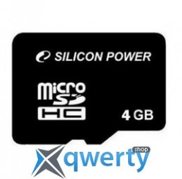 Silicon Power 4GB microSDHC C10 (SP004GBSTH010V10) купить в Одессе