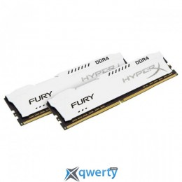 Kingston DDR4-2666 16GB PC4-21300 (2x8) HyperX Fury White (HX426C16FW2K2/16) купить в Одессе