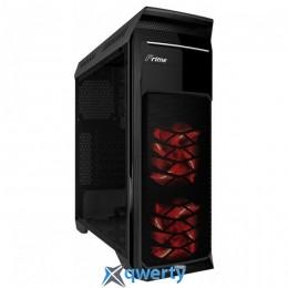 Frime FC-902B/Red LED Black (FC-902B-RF-WP -DB)