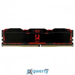 Goodram DDR4-2800 8GB PC4-22400 IRDM X Black (IR-X2800D464L16S/8G) купить в Одессе