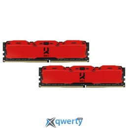 Goodram DDR4-3000 16GB PC4-24000 (2x8) IRDM X Red (IR-XR3000D464L16S/16GDC)