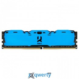 Goodram DDR4-3000 8GB PC4-24000 IRDM X Blue (IR-XB3000D464L16S/8G)