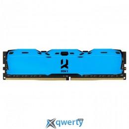 Goodram DDR4-3000 8GB PC4-24000 IRDM X Blue (IR-XB3000D464L16S/8G) купить в Одессе