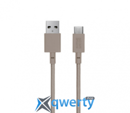 Native Union Belt Cable USB-A to USB-C Taupe (3 m) (BELT-KV-AC-TAU-3) купить в Одессе