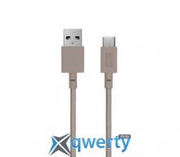 Native Union Belt Cable USB-A to USB-C Taupe (3 m) (BELT-KV-AC-TAU-3)