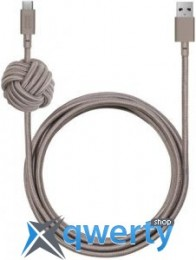 Native Union Night Cable USB-A to USB-C Taupe (3 m) (NCABLE-KV-AC-TAU)