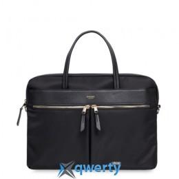 Knomo Hanover Slim Briefcase 14 Black (KN-119-101-BLK)