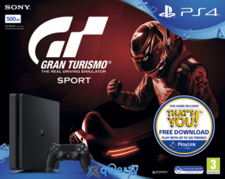 Sony Playstation 4 Slim 500GB + Gran Turismo Sport купить в Одессе